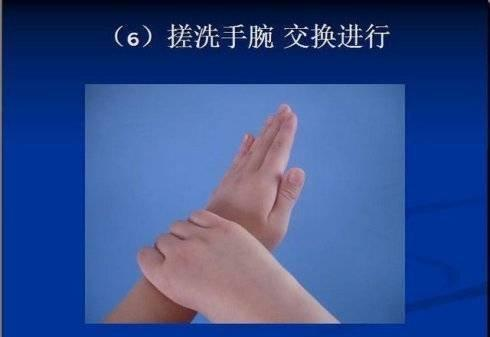 正确洗手6步骤_中华康网