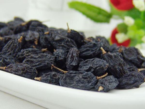 吃黑葡萄干功效