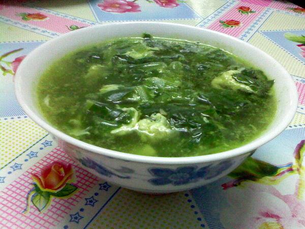 菠菜汤怎么做